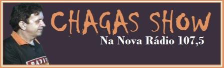 Chagas Show estreia nesta segunda na  107,5 FM