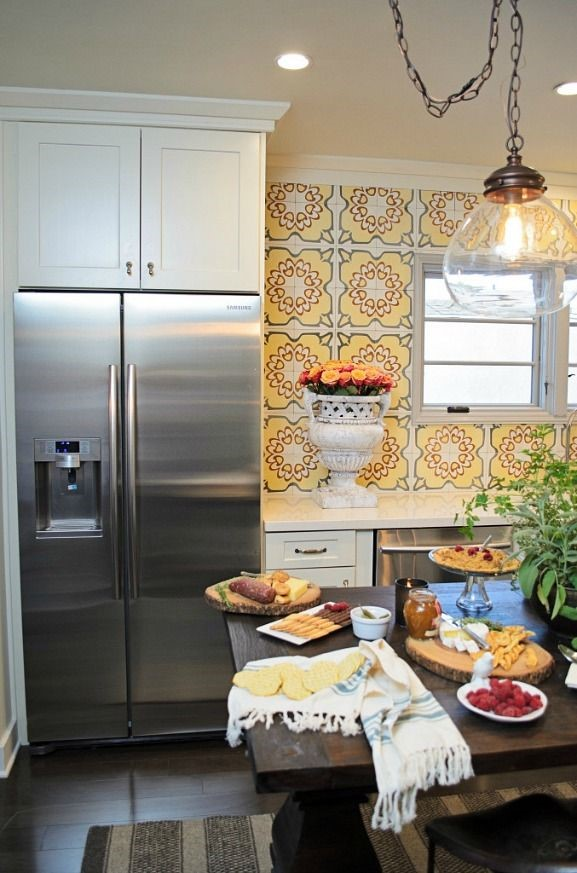 live laugh decorate: decorative tile backsplash for your kitchen