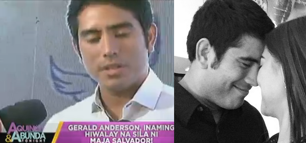 Gerald Anderson and Maja Salvador breakup