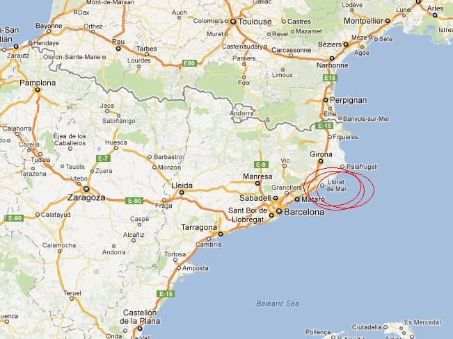 """Dinamizar Portugal: Lloret de Mar - """"La ciudad del pecado"""""""