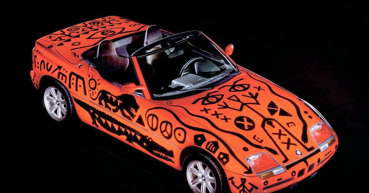 All Cars Nz 1991 Bmw Z1 Art Car By A R Penck