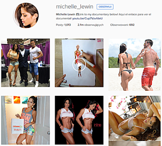 Fitness, Instagram, sport, Michelle Lewin, wenwzuela, modelka