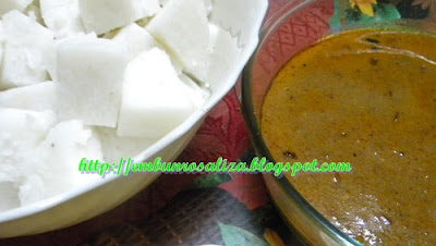 Embun Kaseh Rosaliza Nasi Impit Dan Kuah Kacang Kelantan