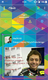 BBM Mod Droid Chat Tema Transparan Terbaru