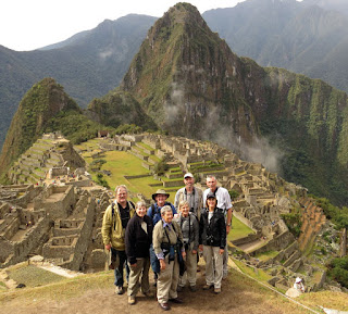 Machu Picchu WINGS group photo