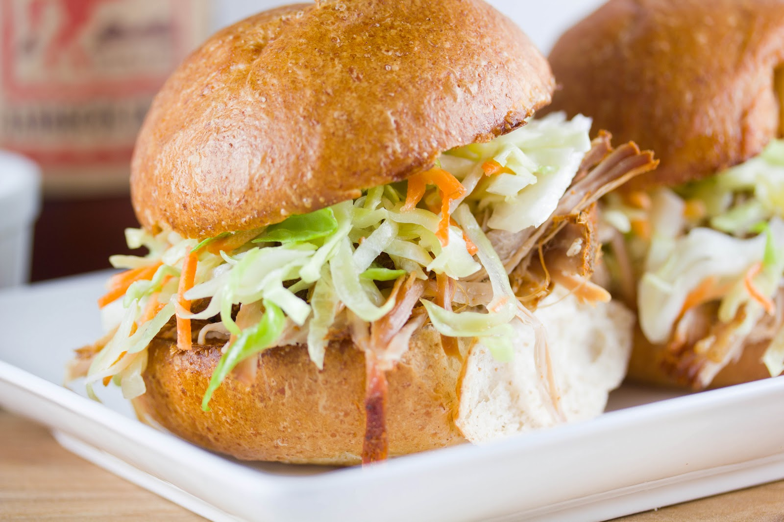 Grilled Five-Spice Pork Sliders Recipe — Dishmaps