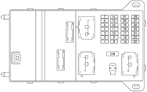 wiring diagrams and free manual ebooks 2007 mercury milan passenger compartment fuse panel and