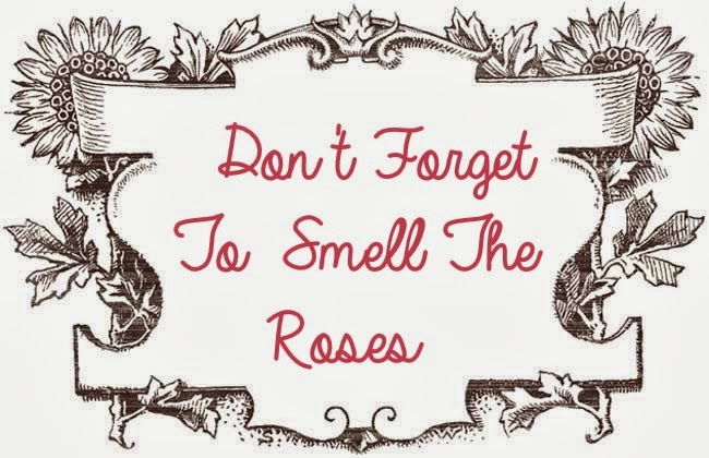 Don't Forget to Smell the Roses