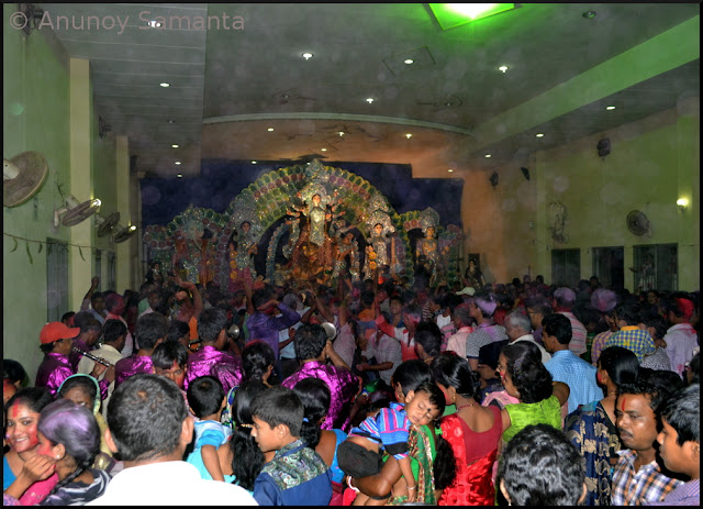 Durga Puja 2015 - Dussehra Celebration with Ravan Dahan