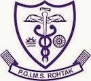 PGIMS Recruitment 2015