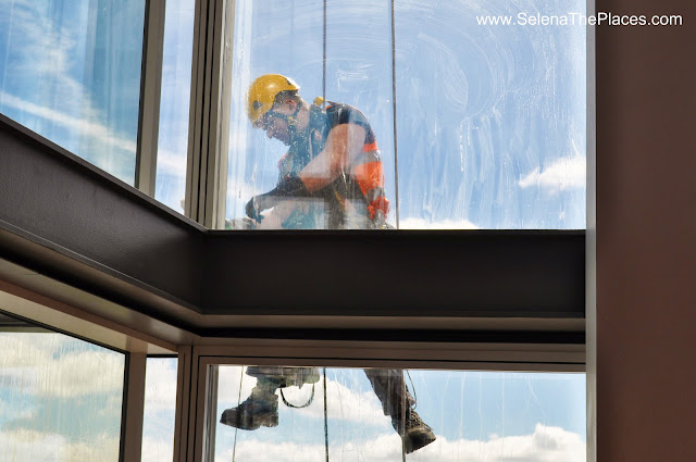 Window Cleaner The View from The Shard London