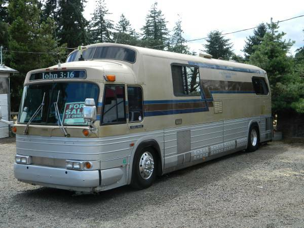 Coach House Rv >> Used RVs 1968 GM-4107 Bus Conversion For Sale by Owner