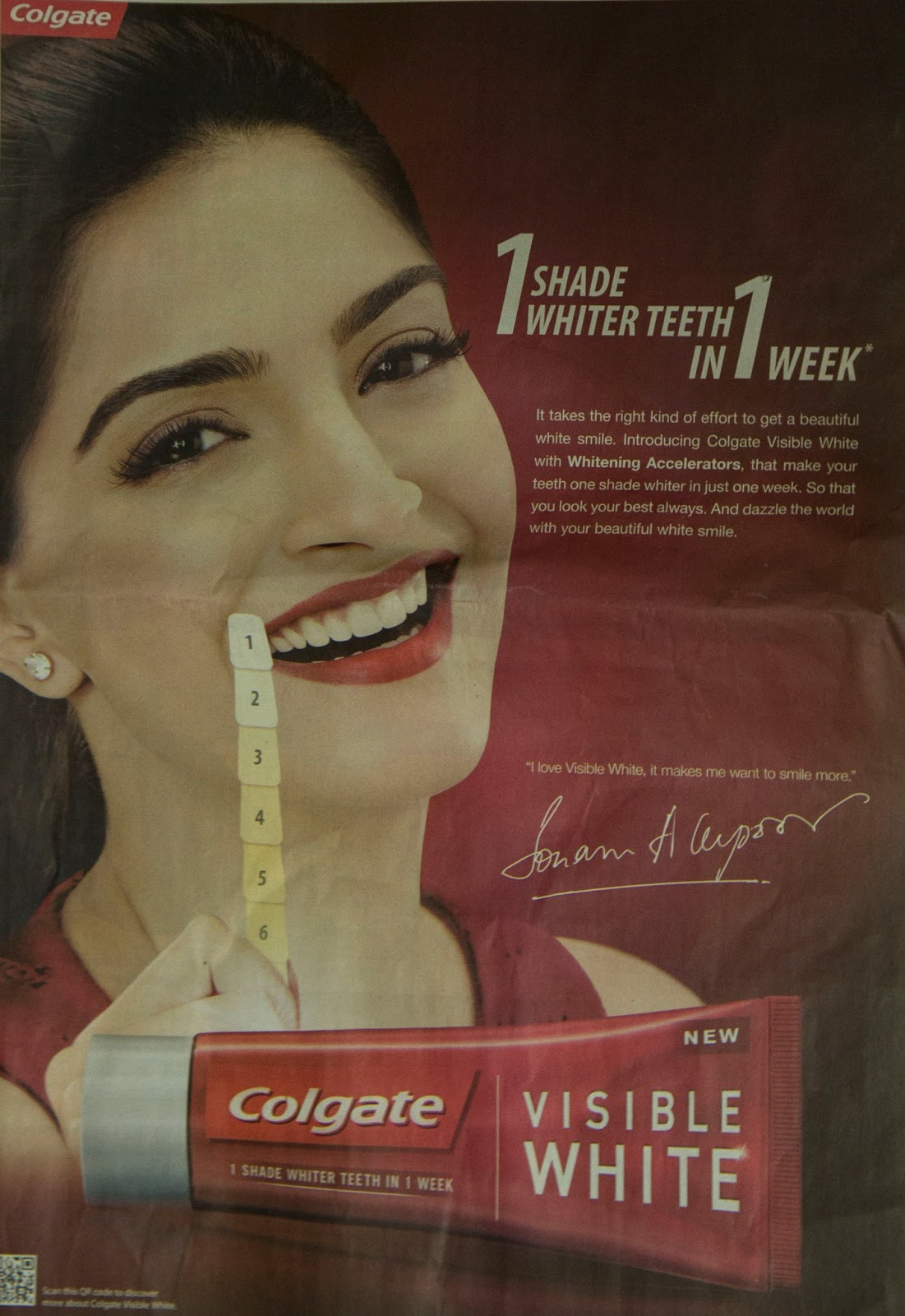 Colgate Visible White Toothpaste Ad Campaign | Ads Watcher