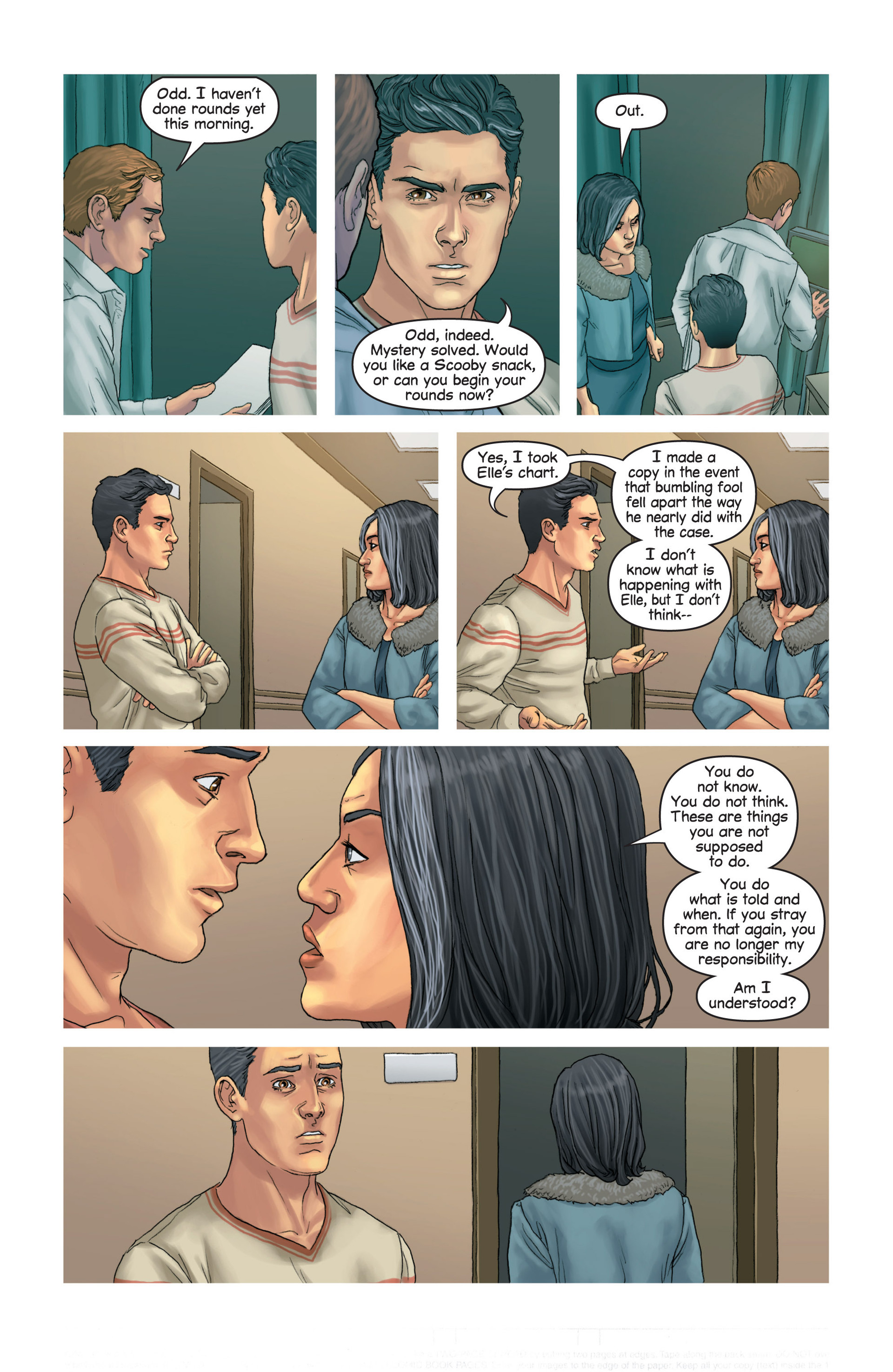Read online Mind The Gap comic -  Issue #14 - 16