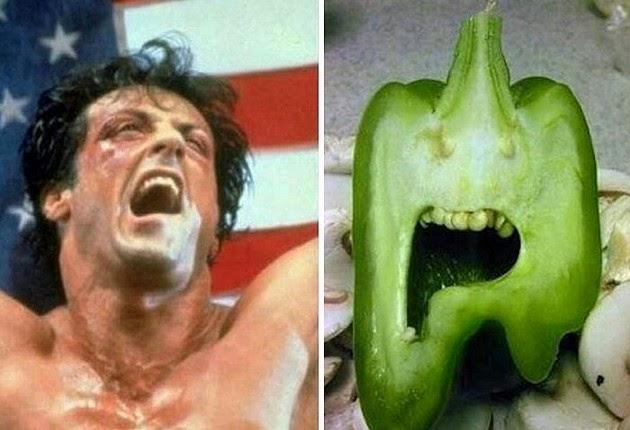 bizarre look alike