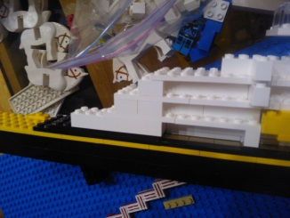 Rough mockup of Lego Disney Wonder