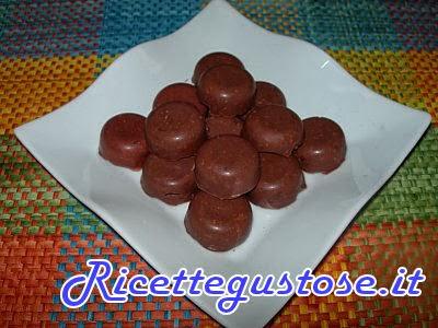 cioccolatini veloci biscotti e nocciole