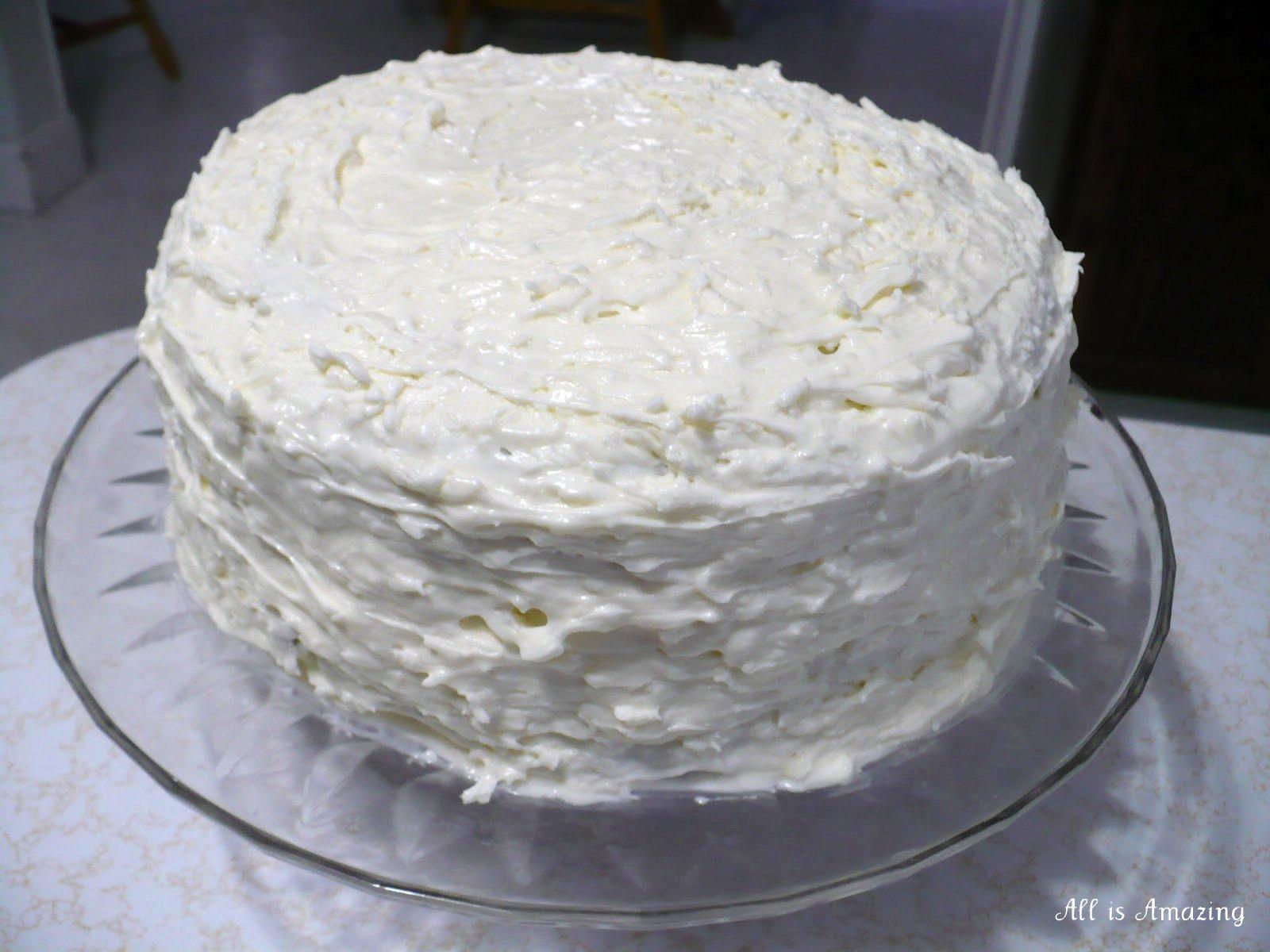 All is Amazing: Italian Coconut Cream Cake
