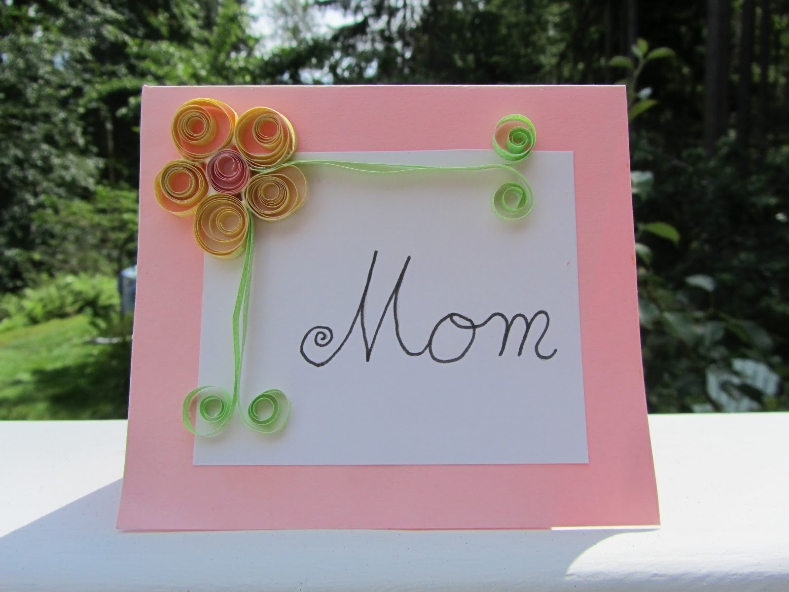 Creative Savv Querly Quilling Floral Greetings