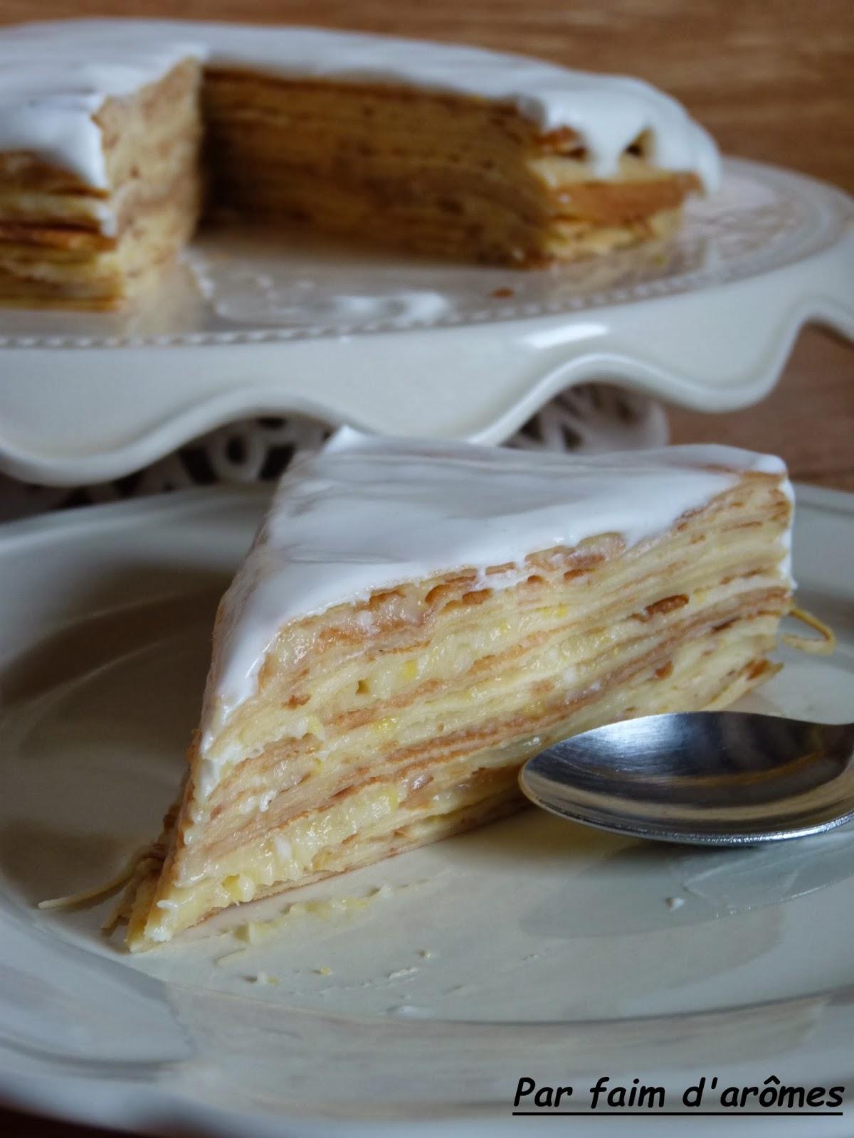 Gâteau de crêpes façon tarte au citron Battle food#15