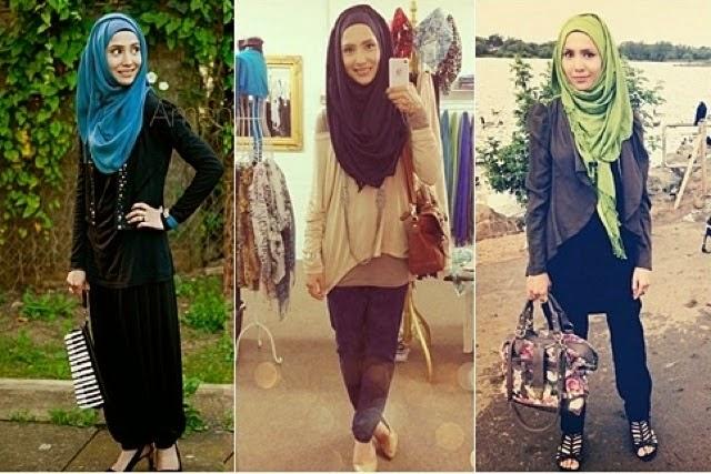 Trend Fashion 2014 Trend Hijabers Dikalangan Remaja