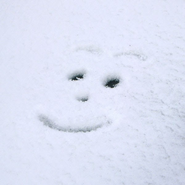 Snow Smile Face - Snow Photograph