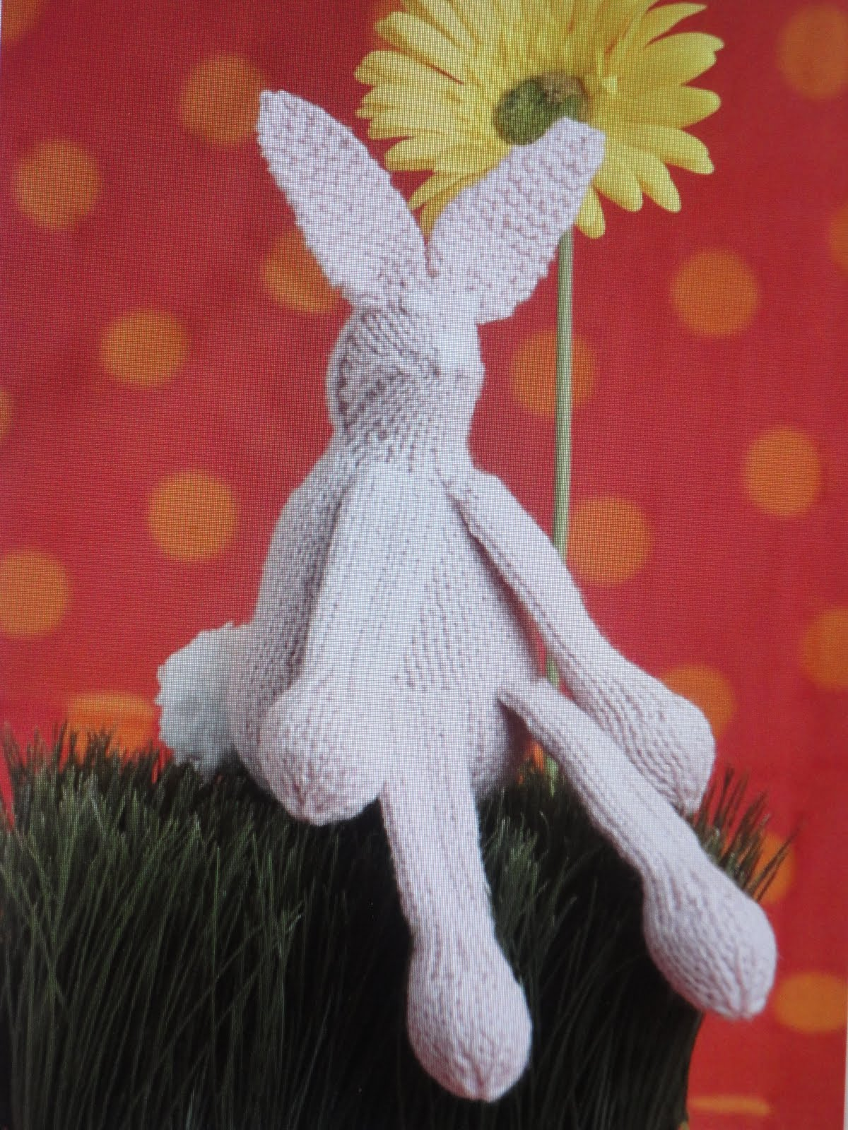 Knit Rabbit Pattern Free : Everyday life at leisure free easter bunny knit pattern