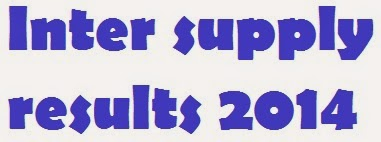 Manabadi Inter 1st year Supplementary Results 2014