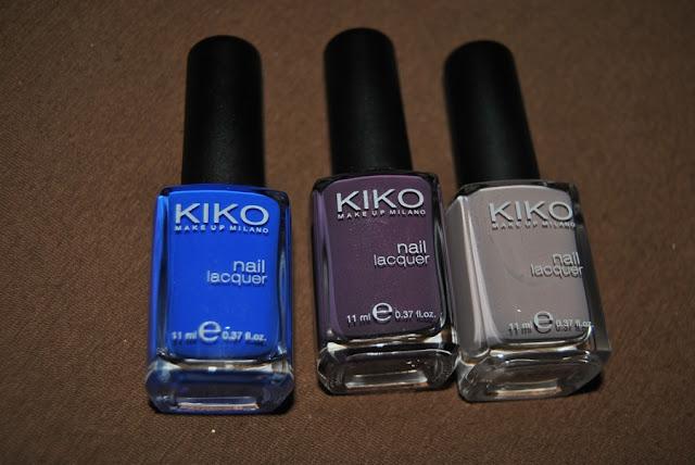 Kiko nail polish 336 379 319