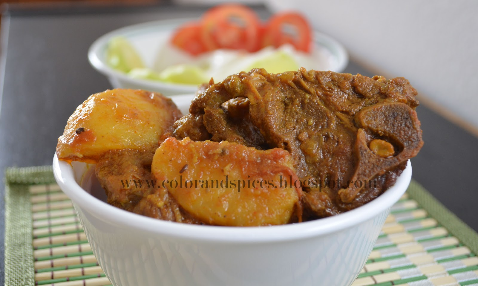 how to cook gorur mangsho