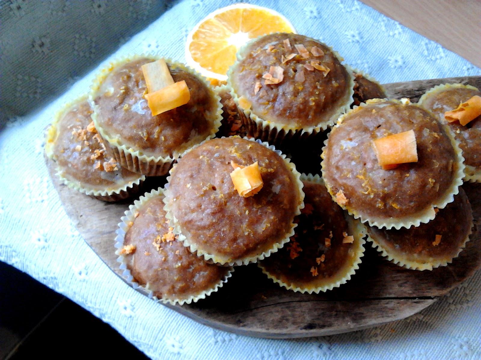 Muffinki marchewkowe. Super proste! Sprawdź na www.gotowanietokochanie.blogspot.com
