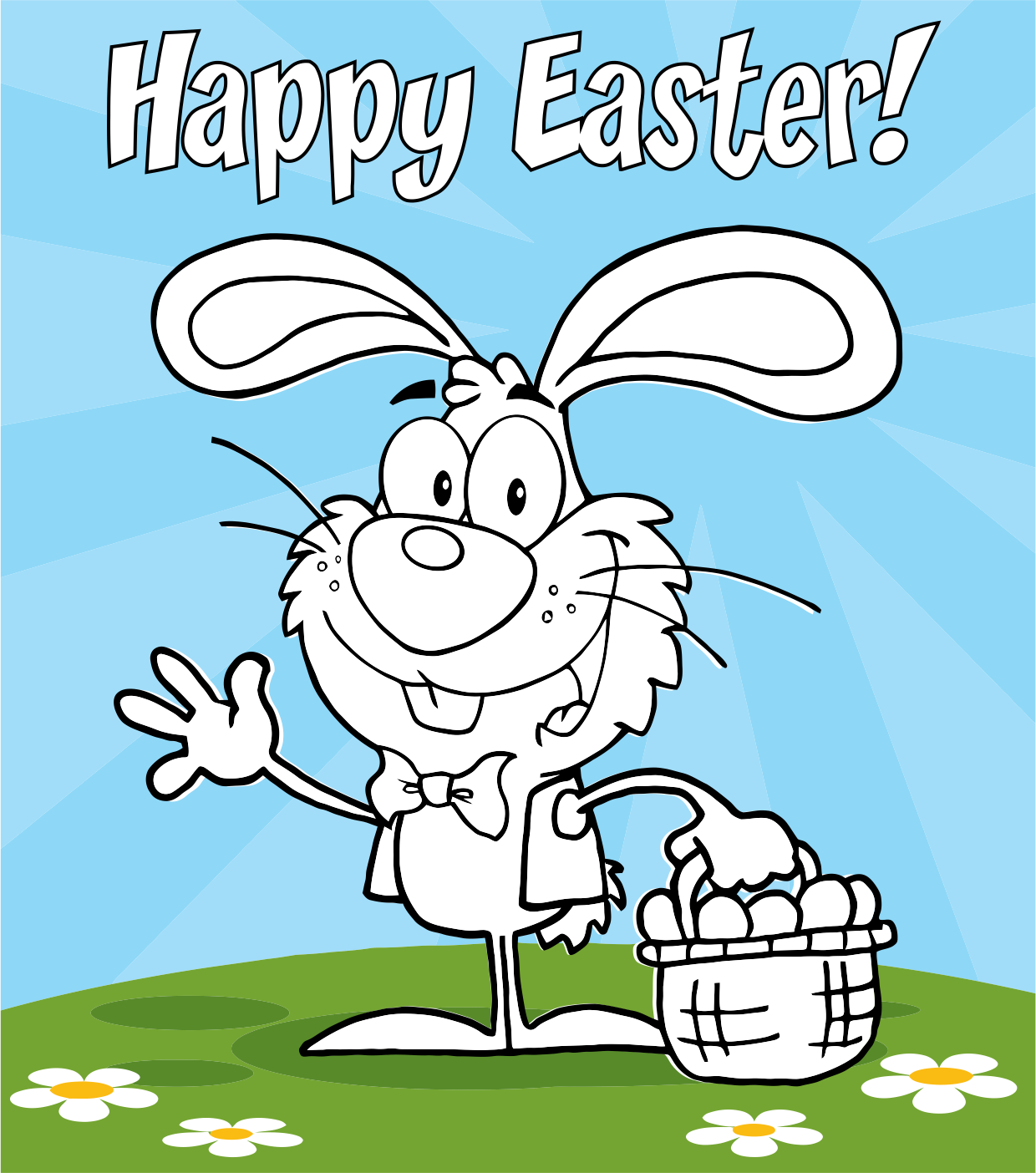 Effortless image with happy easter cards printable