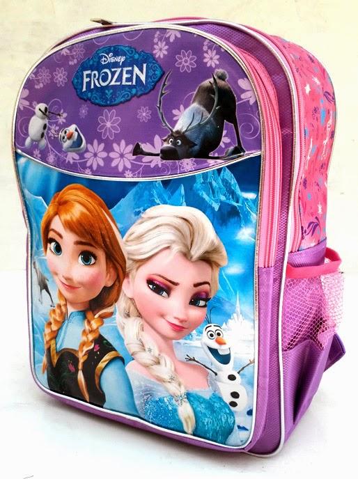 Download tas ransel elsa frozen untuk anak sekolah