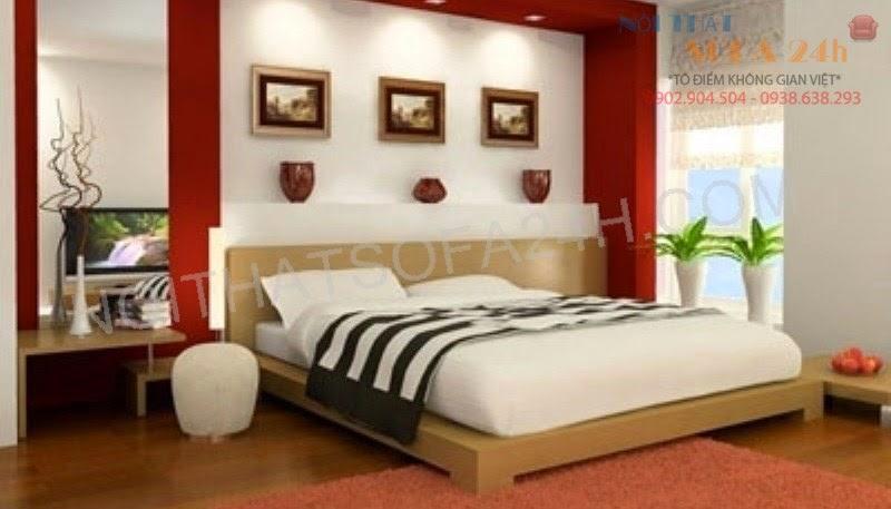 Giường ngủ GN069