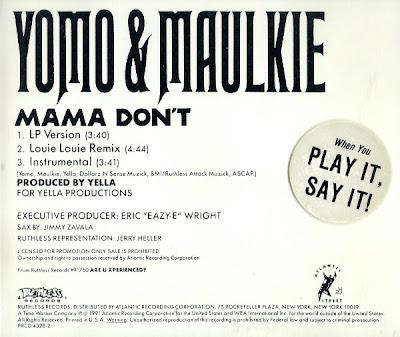 Yomo & Maulkie – Mama Don't (Promo CDS) (1991) (320 kbps)