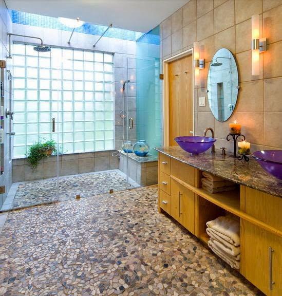 keramik kamar mandi batu alam