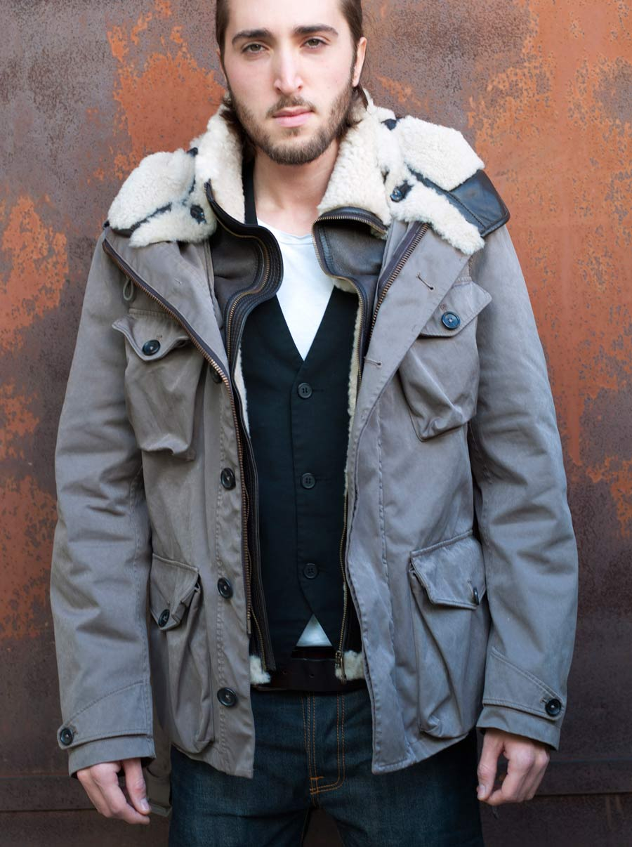 Green Parka Jacket