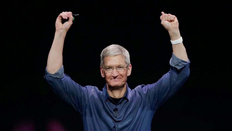Tim Cook ο διευθυντής της Apple