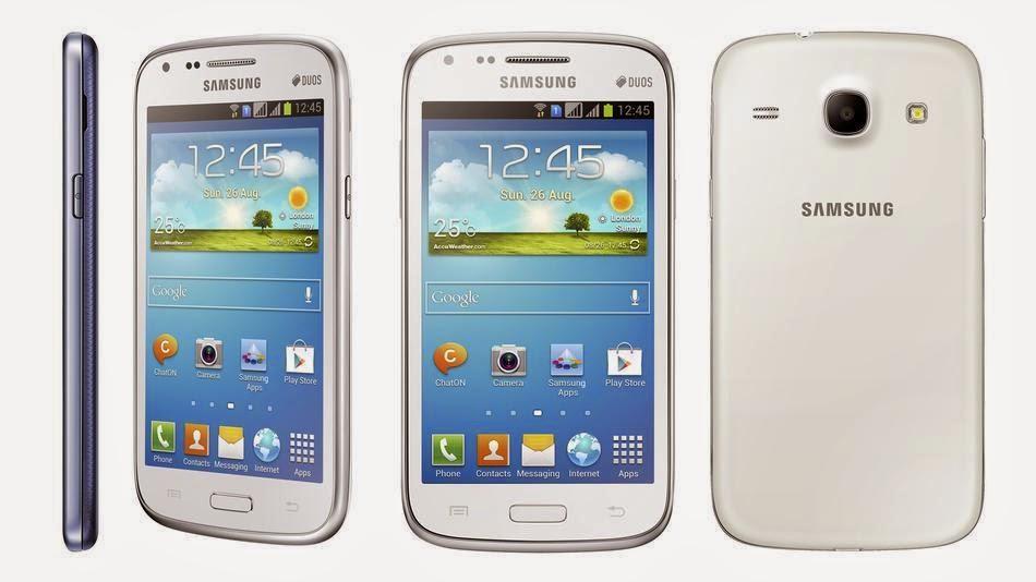 Spesifikasi dan Harga Samsung Galaxy Core Juli - Agustus 2014