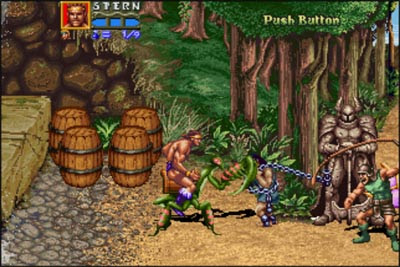 Golden Axe The Revenge of Death Adder arcade videojuego descargar gratis