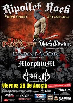 Cartel definitivo del Ripollet Rock Festival de agosto 2014