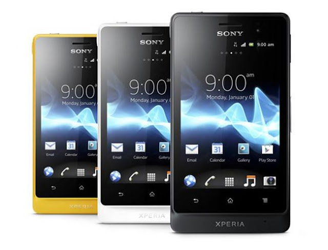xperia go colors