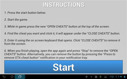 gta vice city cheat button for android download