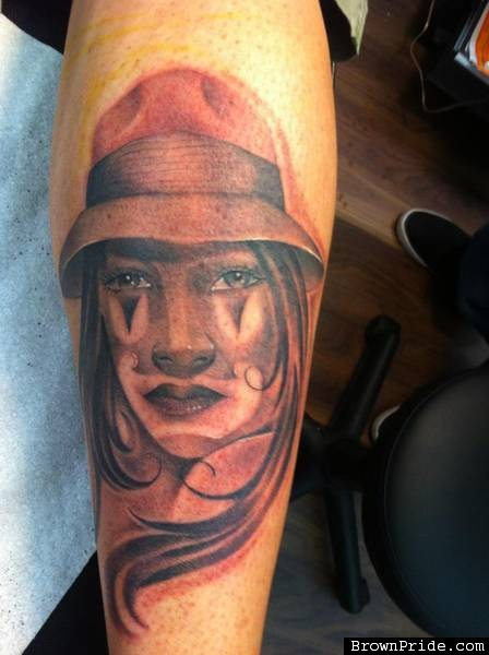 gangsta girls tattoos - photo #22