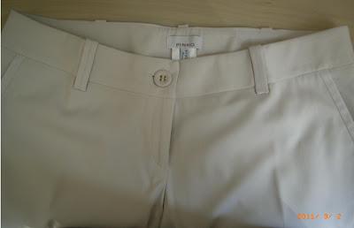 PINKO - Pantalon blanc cassé - T42 - NEUF