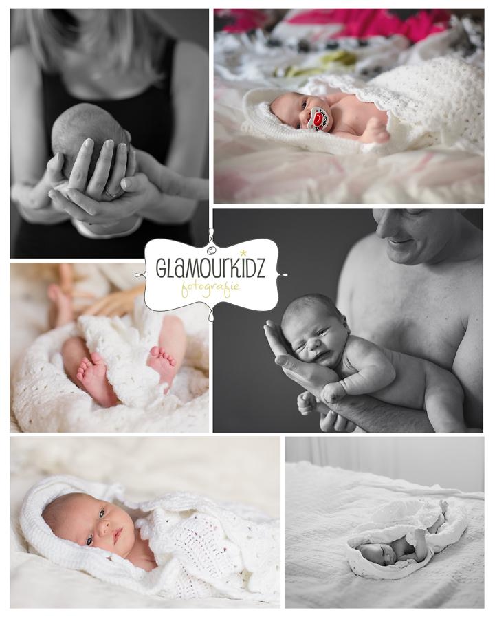 newborn fotoshoot lifestyle baby familie natuurlijk licht vintage