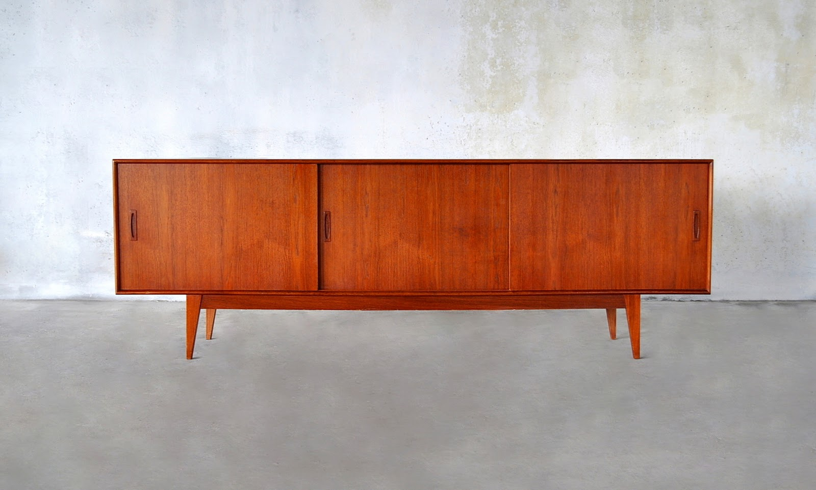 Danish Teak Credenza For Sale : Select modern: danish modern teak credenza bar sideboard or buffet