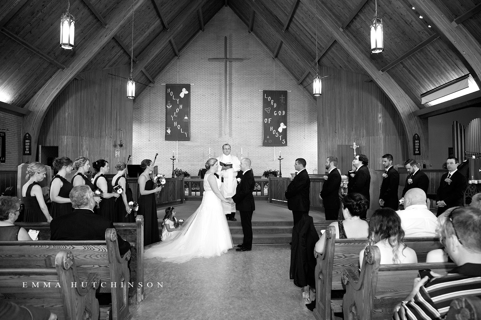 Emma Hutchinson Photography photographs weddings at the Holy Trinity Anglican Church in Grand Falls-Windsor