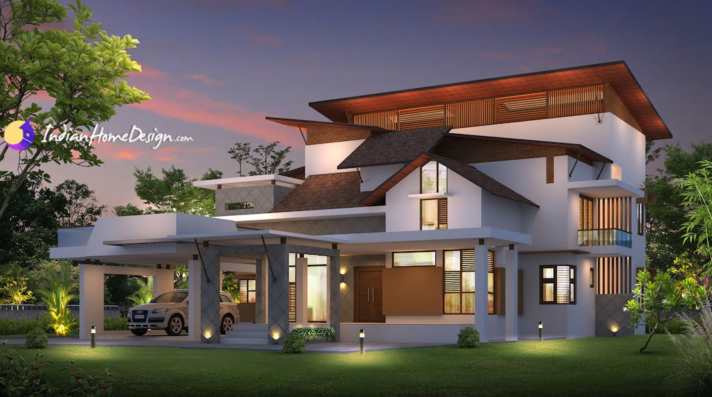 Contemporary House Designs Kerala Style Image Gallery HCPR