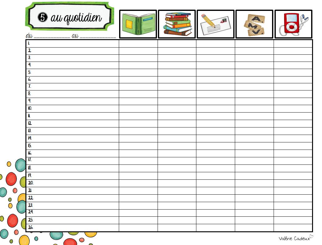 La classe de madame val rie ao t 2014 for Planificateur jardin